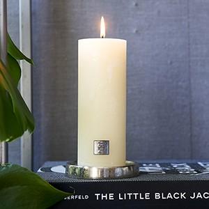 Rustic Candle basic ivory 7x18