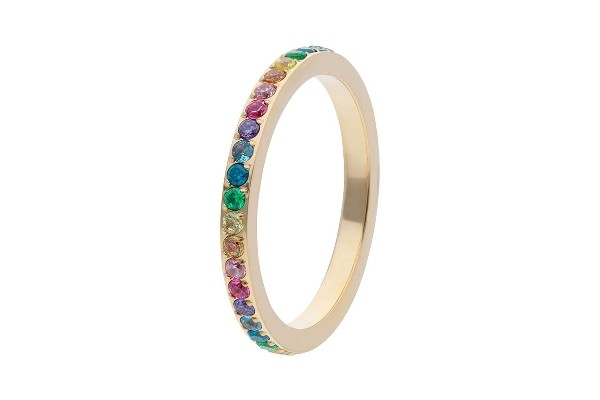 Ring ETERNITY small gold/mehrfarbig (EU52|US6)