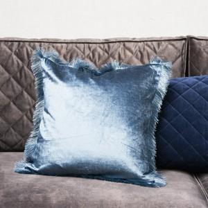 Fabulous Fringe P.C. blue 50x50