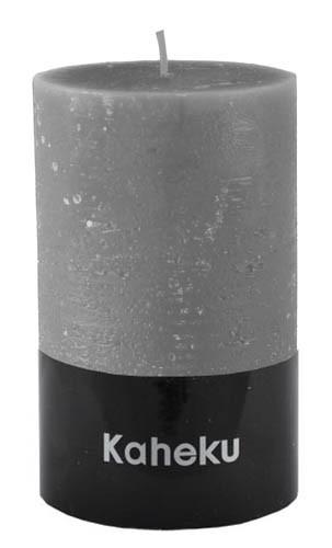 Kaheku Cylinderkerze steingrau 10 Ø 18h
