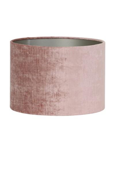 Lampenschirm Zylinder 20-20-15 cm GEMSTONE alt rosa