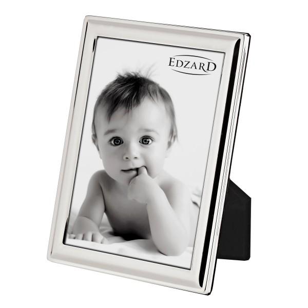 Fotorahmen Bilderrahmen Terni für Foto 13 x 18 cm edel versilbert, anlaufgeschützt, mit 2 Aufhängern