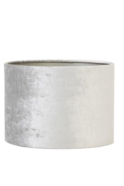 Lampenschirm Zylinder 25-25-18 cm GEMSTONE silber