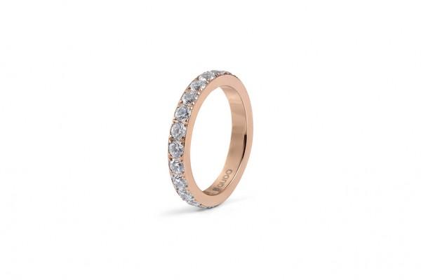 Ring ETERNITY big rosé gold EU58/US8,5