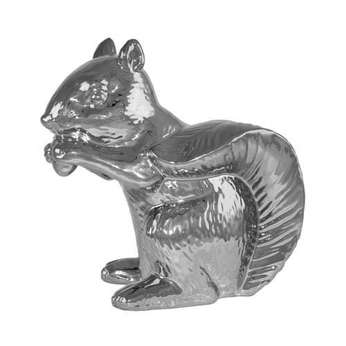 Kaheku Figur Nevio Eichhörnchen silber 17h