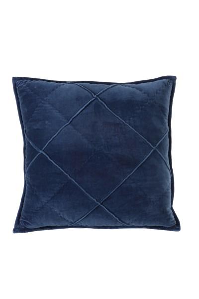 Kissen 50x50 cm DIAMOND velvet dunkel blau
