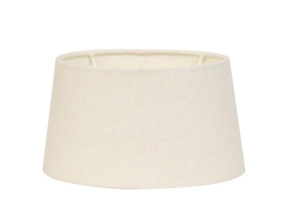 Lampenschirm n-ellips 35-30-18 cm LIVIGNO ei weiss