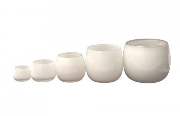 DutZ POT - H6 D8 cm - WHITE(1. von links)