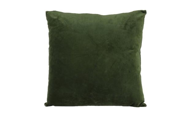 Kissen 50x50 cm KHIOS velvet olive Grün