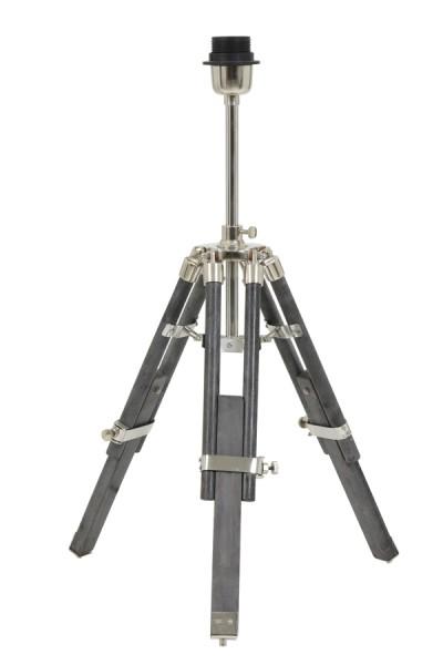 Light & Living Lampenfuss tripod 37x33x47-60 cm MATISSE grau antik verst.