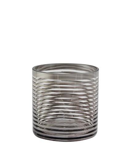 Kaheku Tischlicht Pairas Ringe silber 10 Ø 10h