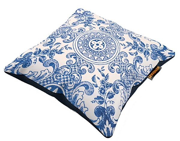 Kissen royal blue 45x45