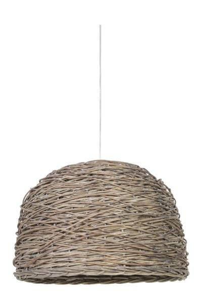 Light & Living Hängeleuchte Ø54x37cm ROTAN crazy weaving