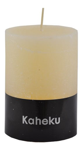 Kaheku Cylinderkerze elfenbein 7 Ø 10h