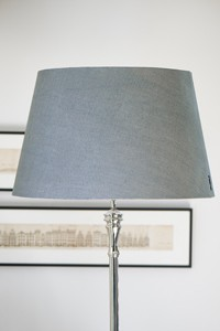 CLASSIC NATURAL LINEN L.SHADE GREY