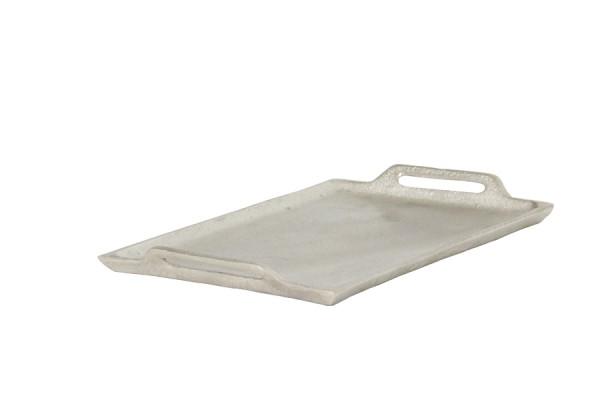 Tablett 18x30 cm NIBE roh nickel