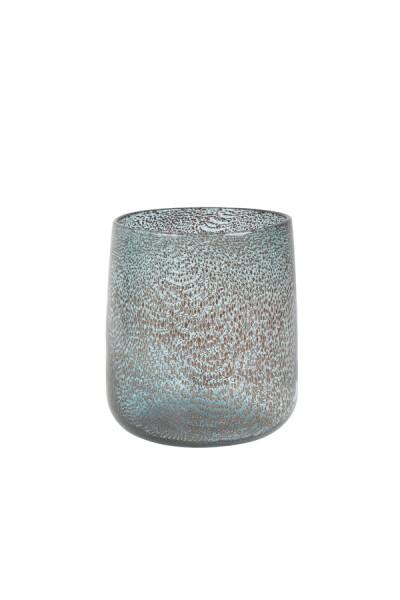 Vase Ø18x19 cm MARB Glas blau