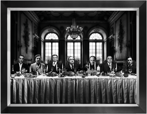 Gangsters last supper 60x80