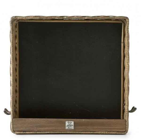 Rattan Blackboard Box