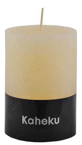 Kaheku Cylinderkerze elfenbein 7 Ø 15h