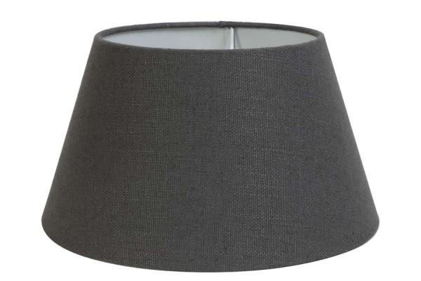 Lampenschirm rund 20-15-13 cm LIVIGNO dunkel grau