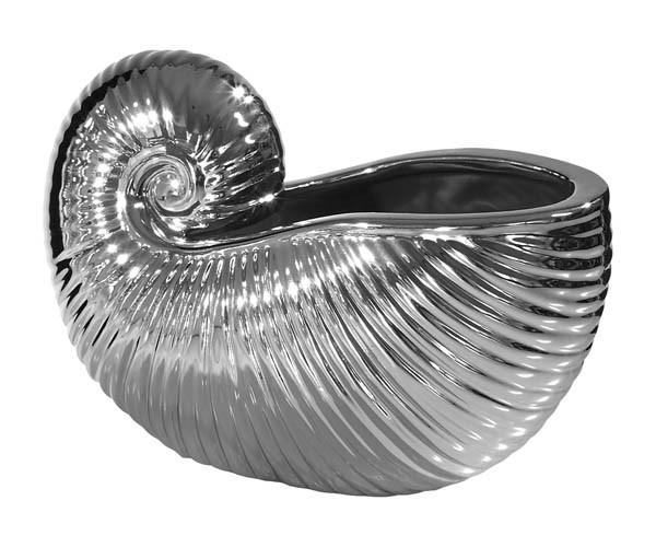 Kaheku Figur Seaside Muschel silber 13h
