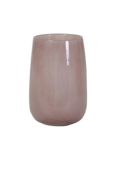 Vase Ø13x19 cm CONRAN Glas hellrosa