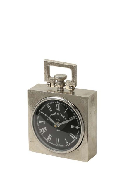 Light & Living Uhr 15x5,5x19 cm BRADFORD roh Nickel