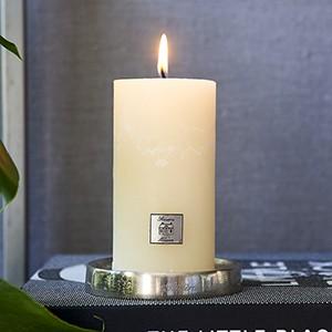 Rustic Candle basic ivory 7x13