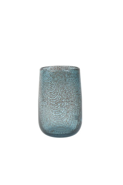 Vase Ø13x19 cm CONRAN glass blue