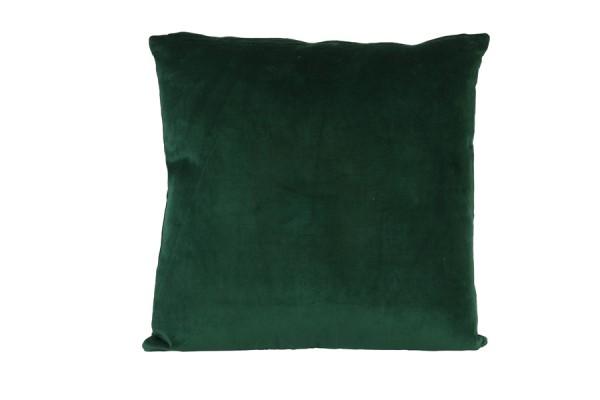Light & Living Kissen 50x50 cm KHIOS velvet grün