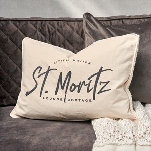 COSY ST. MORITZ PILLOW COVER 65X45
