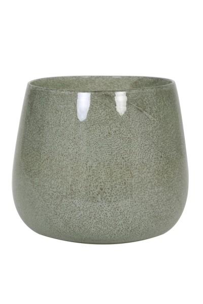 Vase Ø26x22 cm MUMBULLA Glas Grün