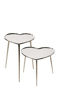 Lovely Heart End Table S2
