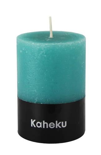 Kaheku Cylinderkerze türkis 10 Ø 11h