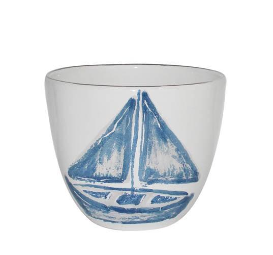 Kaheku Kübel Nautic Boot blau 17 Ø 14,5h