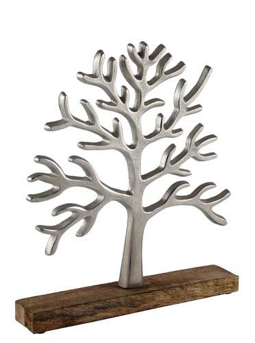 Kaheku Baum Herbol silber vernickelt 30,5h