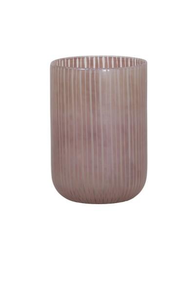 Vase Ø16,5x22 cm TOLLEGNO glas rosa