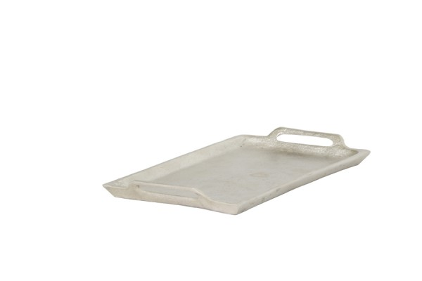 Tray 14x25 cm NIBE raw nickel