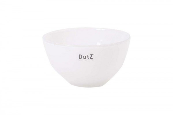 DutZ BOWL SMALL - H9 D17 cm - WHITE