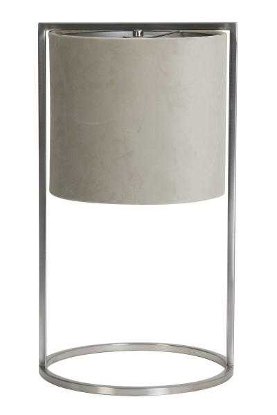 Light & Living Tischleuchte Ø25x45 cm SANTOS (Geen suggesties) grau-taupe
