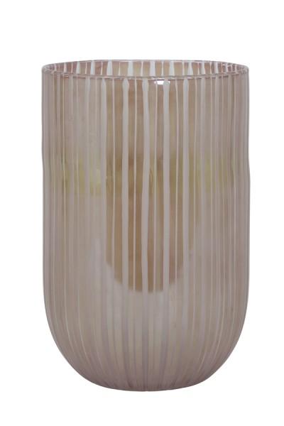 Vase Ø24x37 cm TOLLEGNO glas rosa