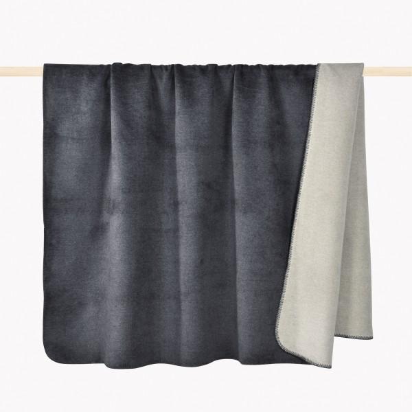 Decke HOBART grau 150x200cm
