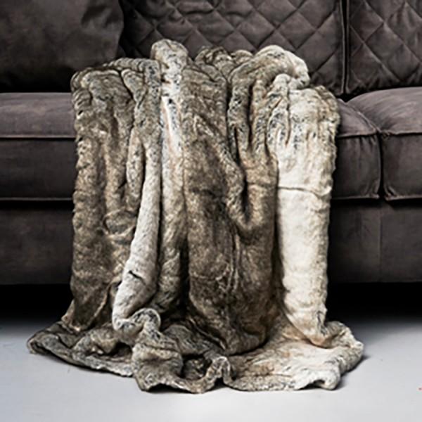 Magic Mink Faux Fur Throw 170x130