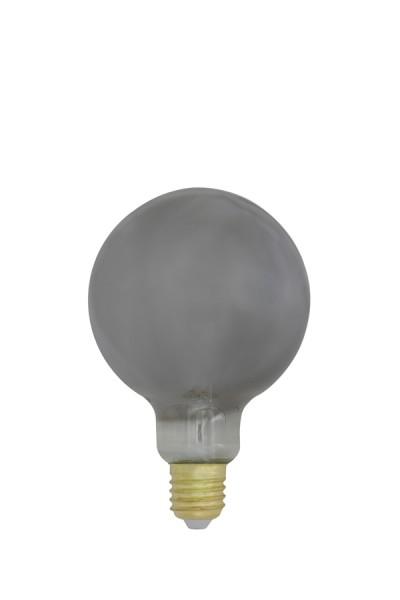 Deko LED kugel Ø9,5x14 cm LIGHT 4W smoke E27 dimmbar