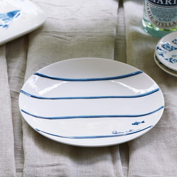 Catch Of The Day Stripe Plate