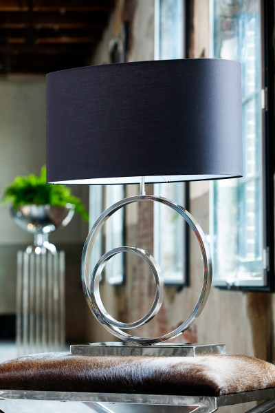 Lampenfuss 38x18x53 cm OMEGA nickel